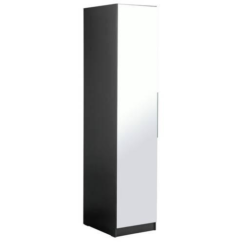 945f7e601bc Argos Home Sandon Single Door Wardrobe - Black and Mirrored. by Argos Home.  618 5558. 1 6