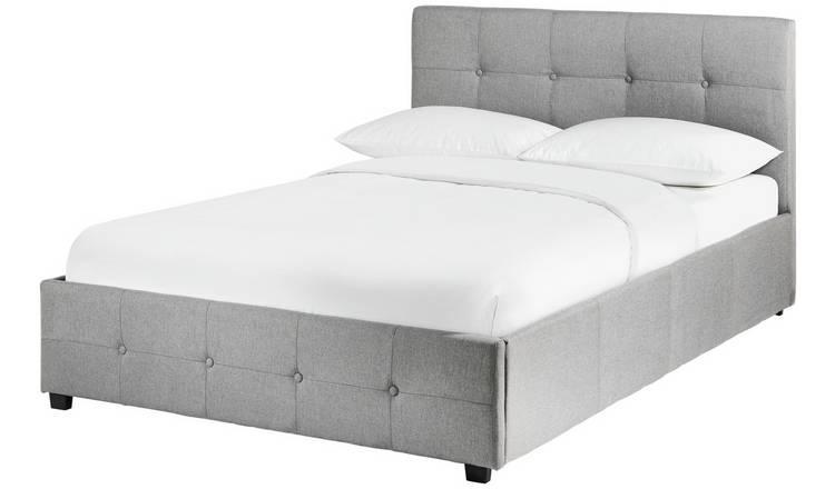 Buy Argos Home Eros Ottoman Double Bed Frame Grey Bed