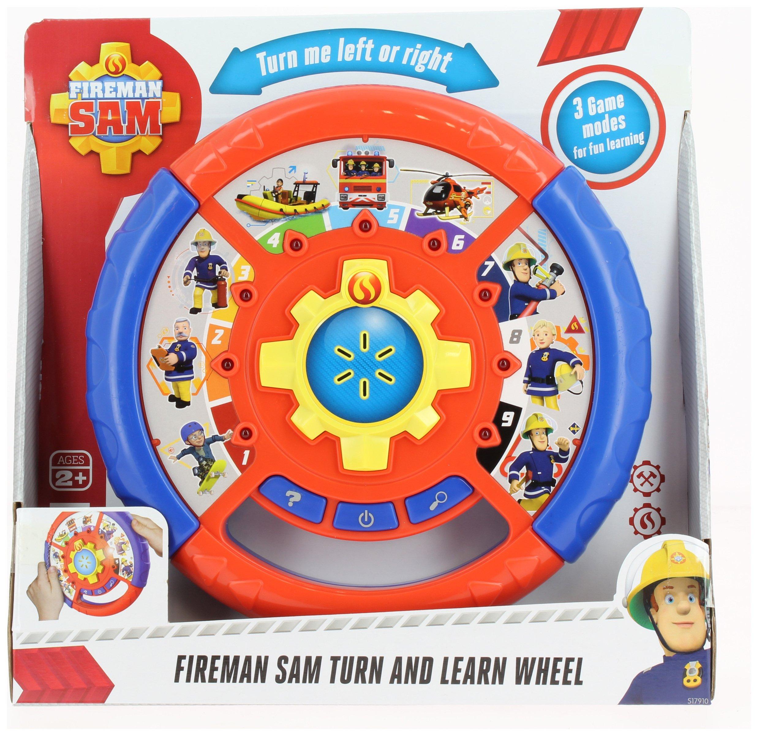 Fireman Sam Turn and Learn Wheel.