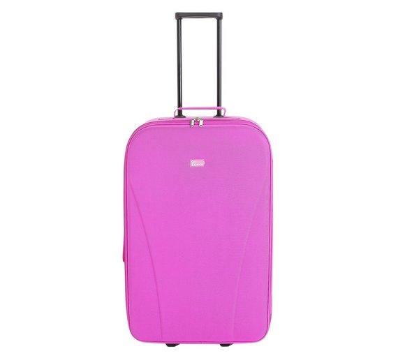 Buy Go Explore 2 piece Soft Luggage Set - Pink at Argos.co.uk ...