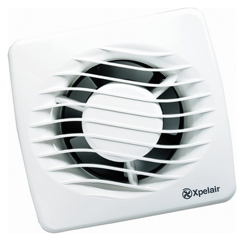 Xpelair Extractor Fans For Bathrooms: Xpelair 4 Inch Standard Bathroom Extractor Fan With Kit