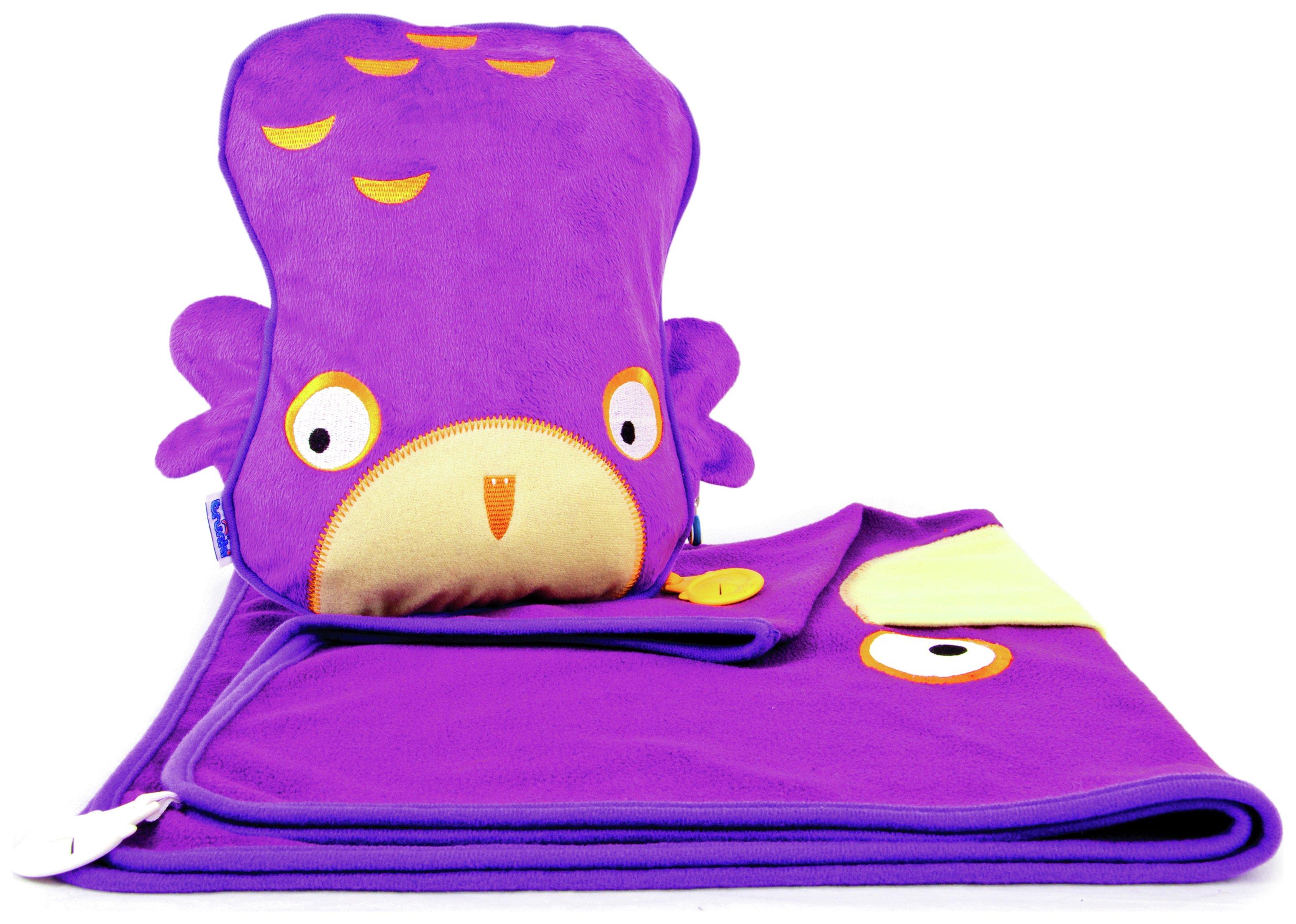 Trunki SnooziHedz Travel Pillow and Blanket - Ollie Owl. lowest price