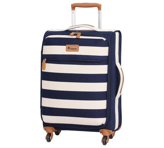Buy IT Luggage Lightweight Large 4 Wheel Suitcase - Nautical at ...