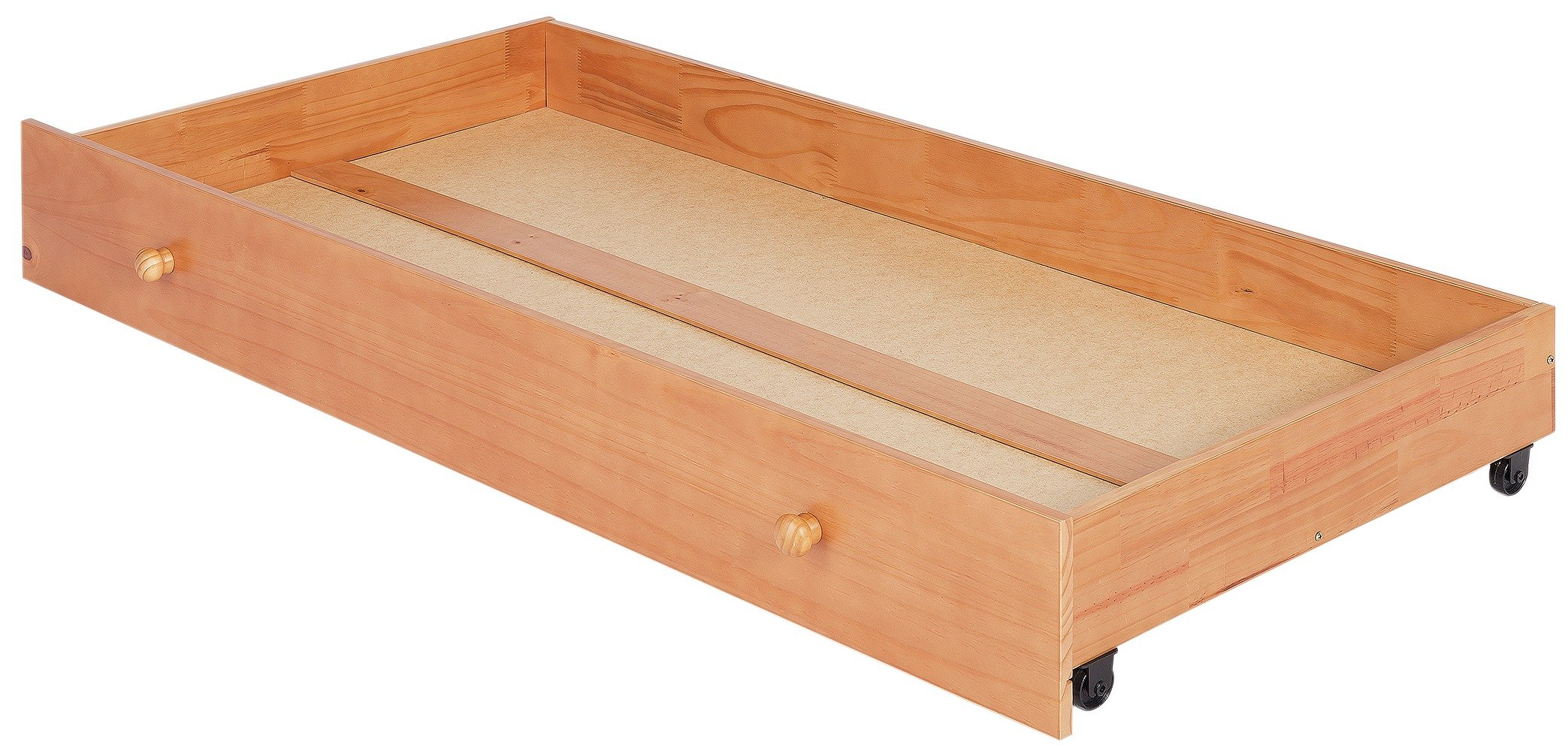 Image of BabyStart - Oxford Undercot Drawer - Pine with Oak Finish