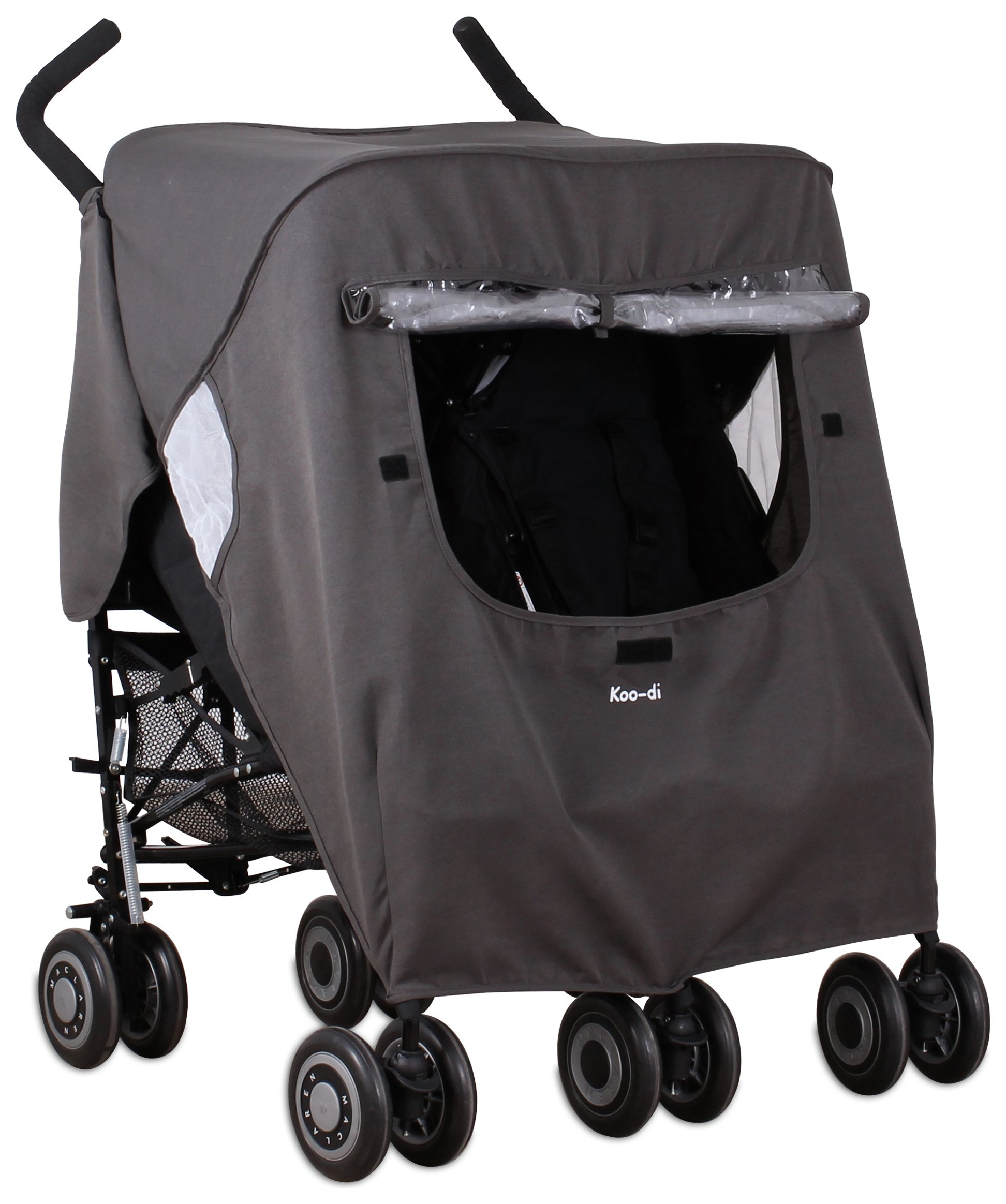 Image of Koo-di Pack-It Double - Stroller Rain Cover