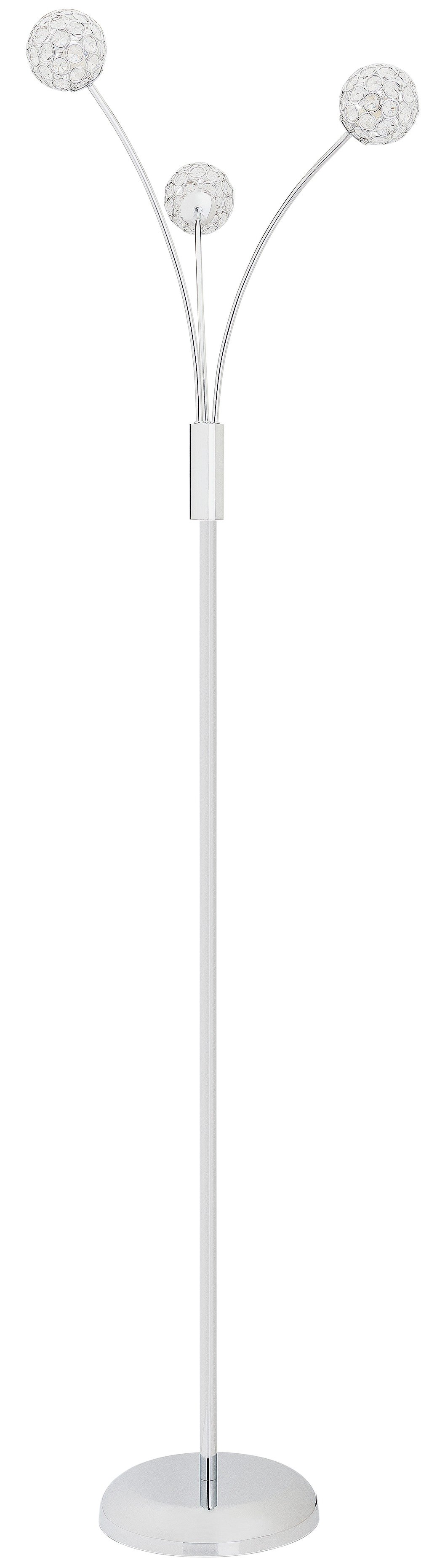 Argos Home Amelia 3 Light Beaded Globe Floor Lamp