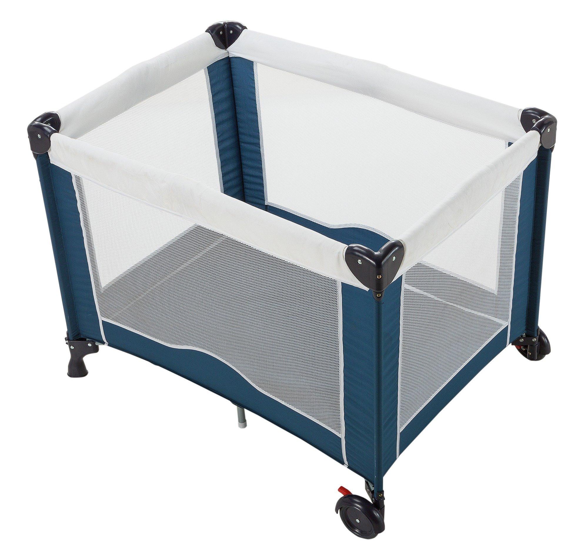 babystart deluxe travel cot find it for less. Black Bedroom Furniture Sets. Home Design Ideas