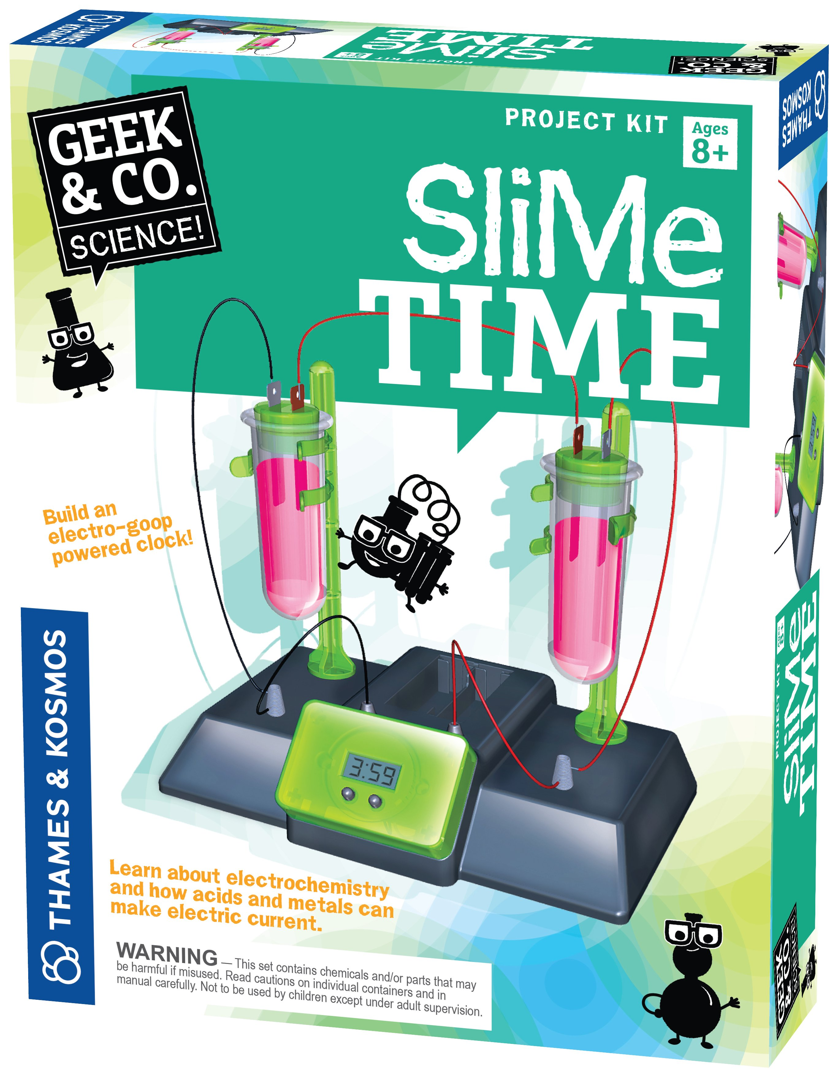 Slime Time Science Experiment Kit.