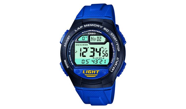 Casio Men's Blue Resin Strap Watch