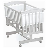 BreathableBaby - Airflow Mesh Crib Liner - White