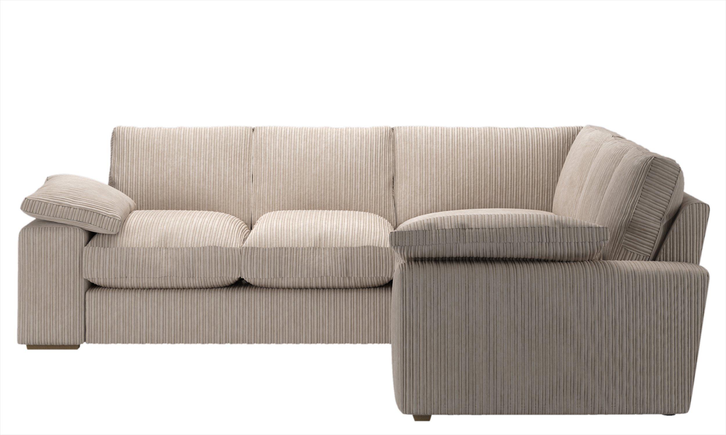Collection - Phoebe Extra Large Dual Face Corner Sofa - Cream