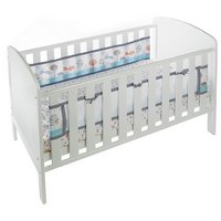 BreathableBaby - Liner for Solid End - Cots - Enchanted Forest