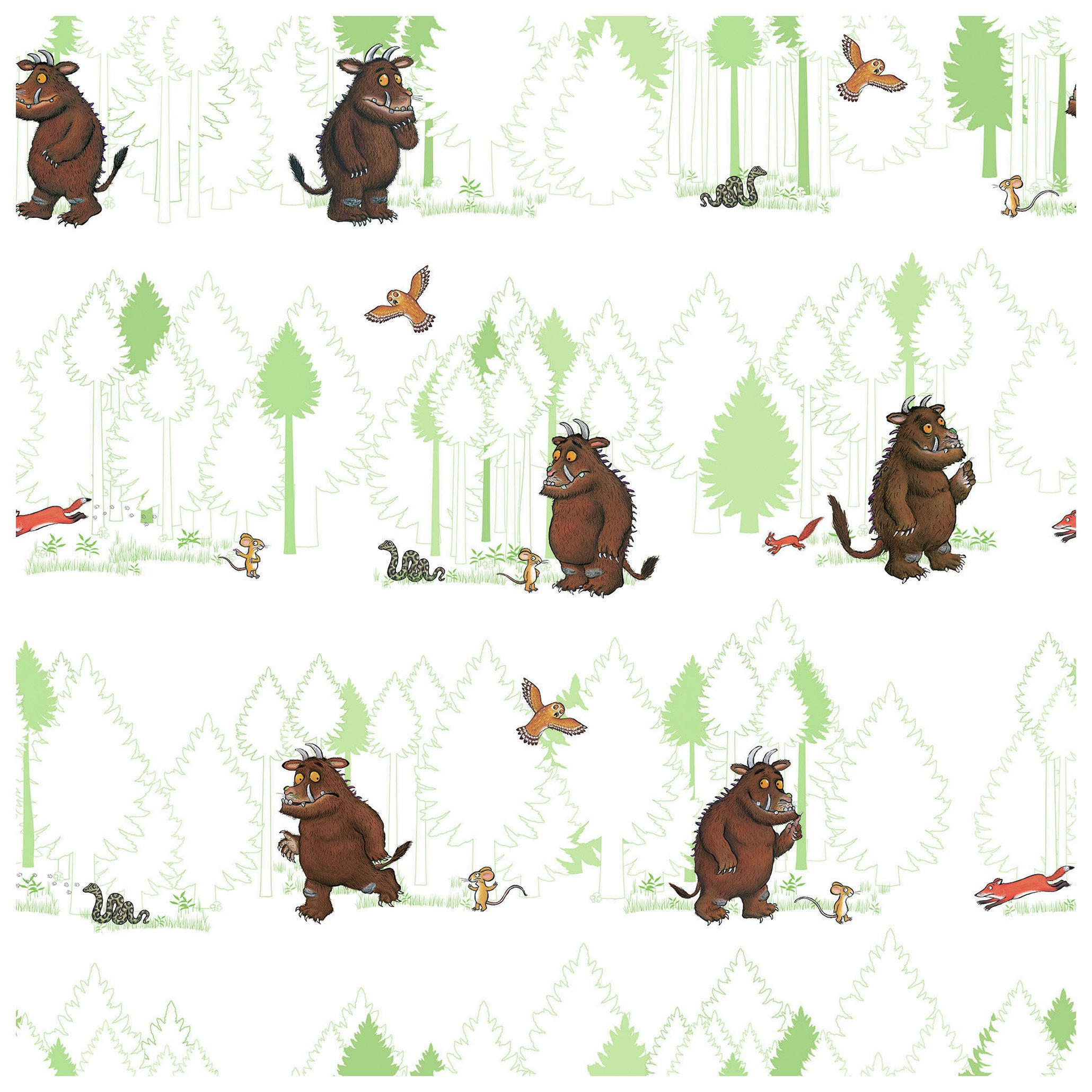 the gruffalo  wallpaper  10 metre roll