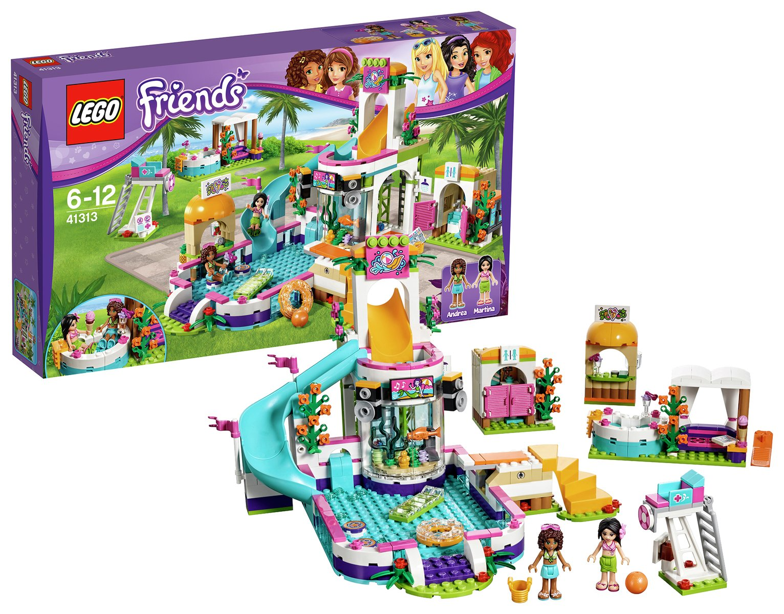 LEGO Friends Heartlake Summer Pool - 41313