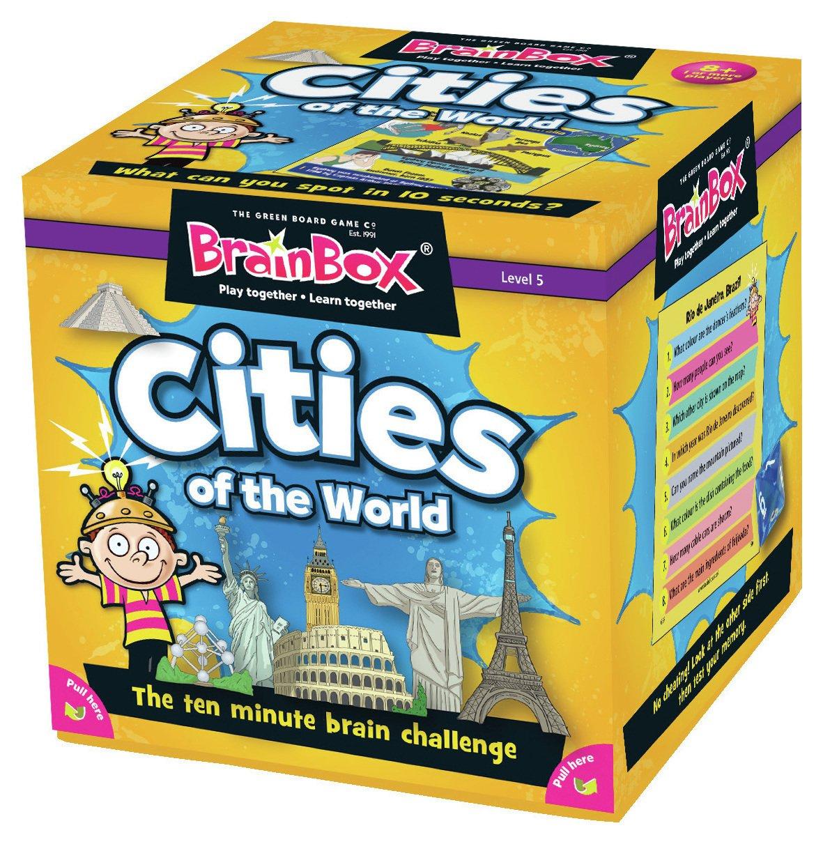 Image of Brainbox Cities Card Game.