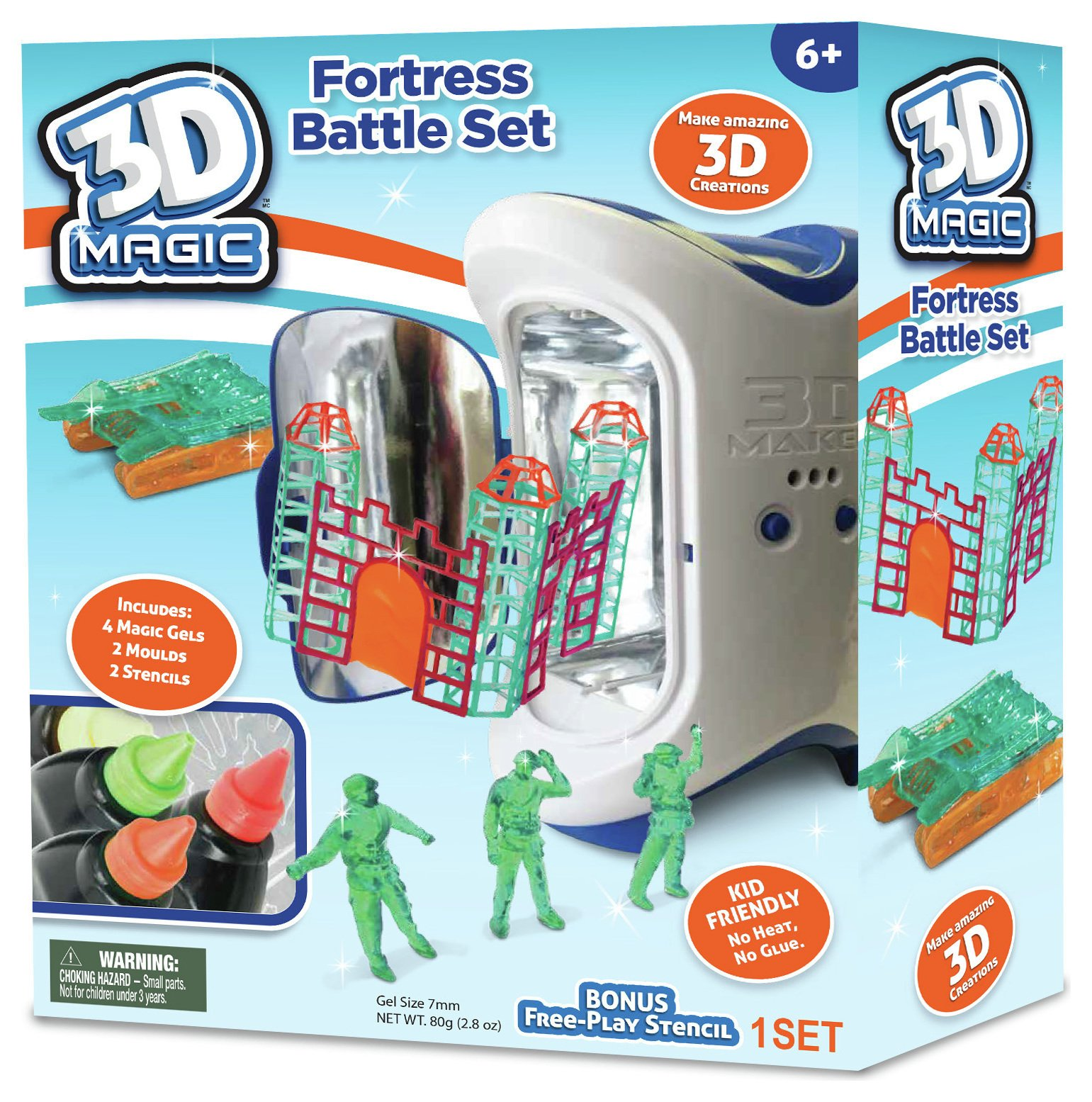 Compare retail prices of 3D Magic Maker Army Fortress Deluxe Expansion Pack to get the best deal online