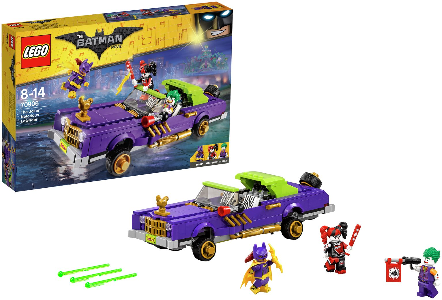 LEGO The Batman Movie Joker Lowrider - 70906