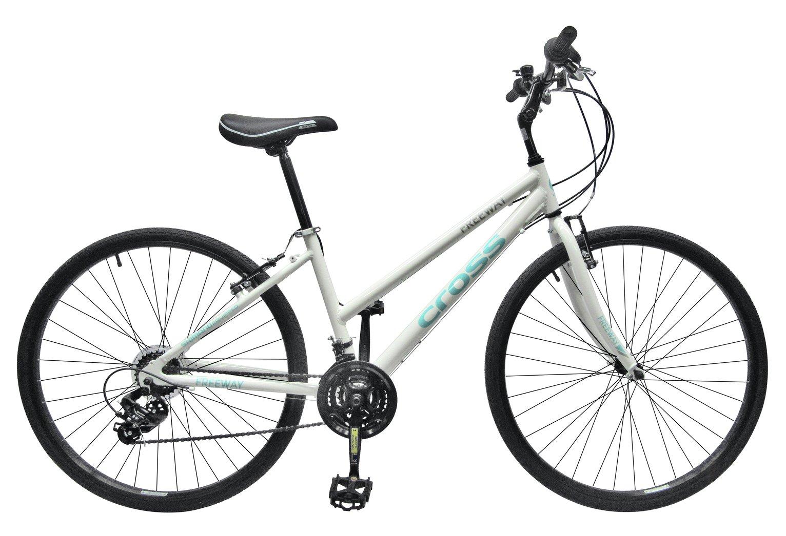 Image of Cross Freeway 700c Hybrid Bike - Womens