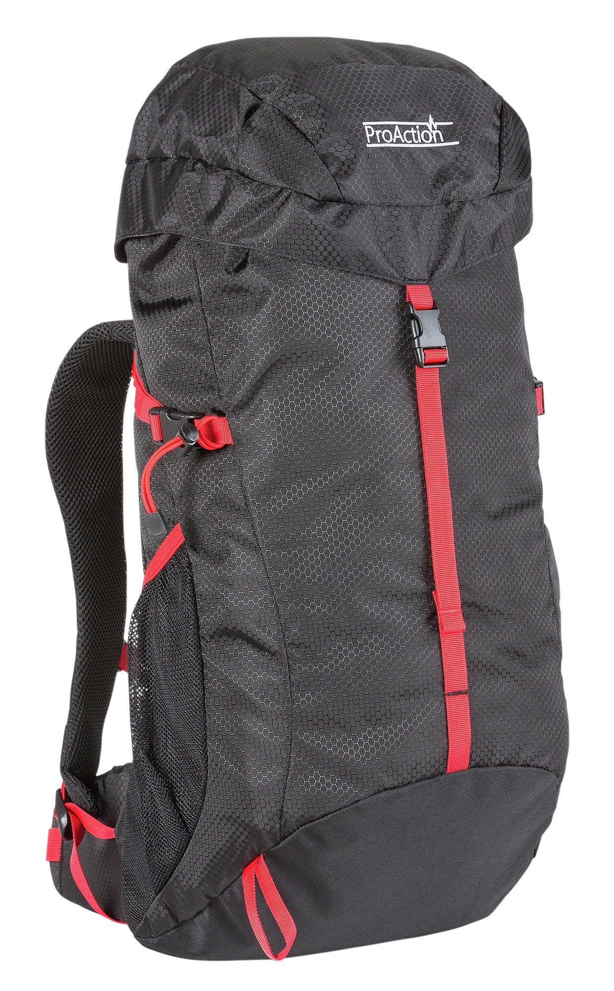 ProAction 35L Backpack - Black and Red