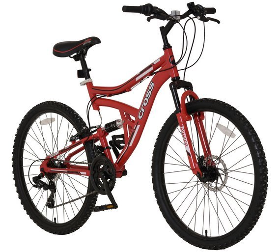 Image of Cross DXT300 Dual Suspension Mountain Bike