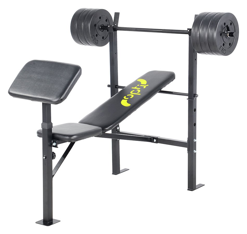 'Opti Bench With 30kg Weights