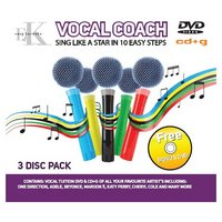 Easy Karaoke - Vocal Coach CD+G and DVD