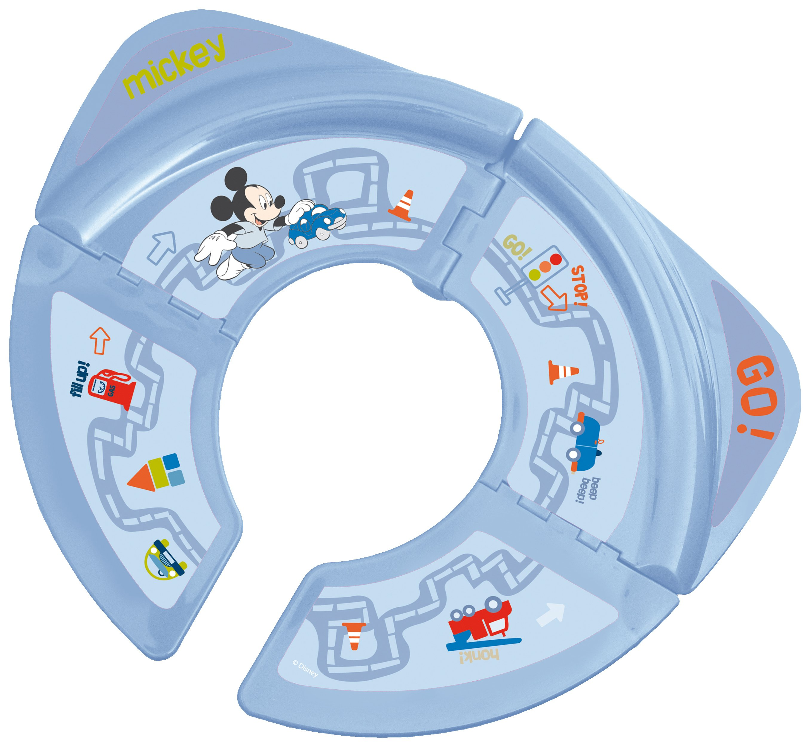 Image of Disney - Mickey Mouse Foldable Travel - Toilet Seat