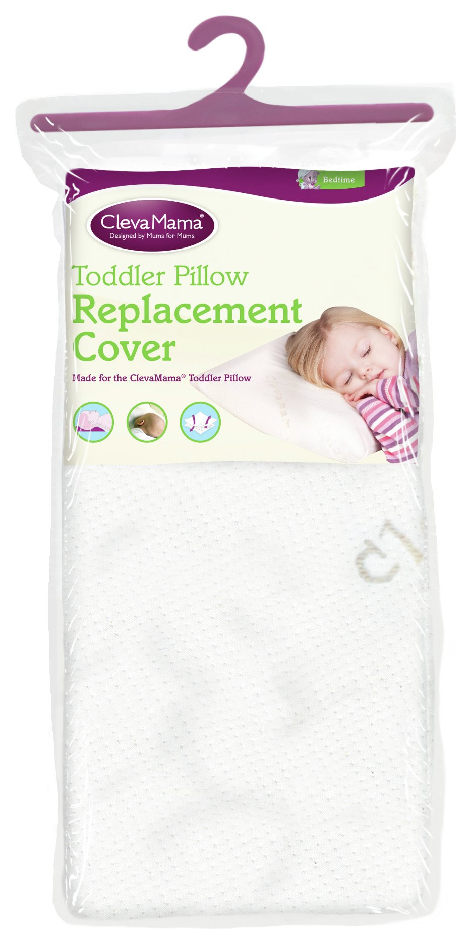 Image of Clevamama - ClevaFoam Replacement - Toddler Pillowcase