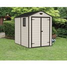 Buy Keter Manor Apex Garden Storage Shed 6 x 8ft – Beige/Brown | Sheds |  Argos