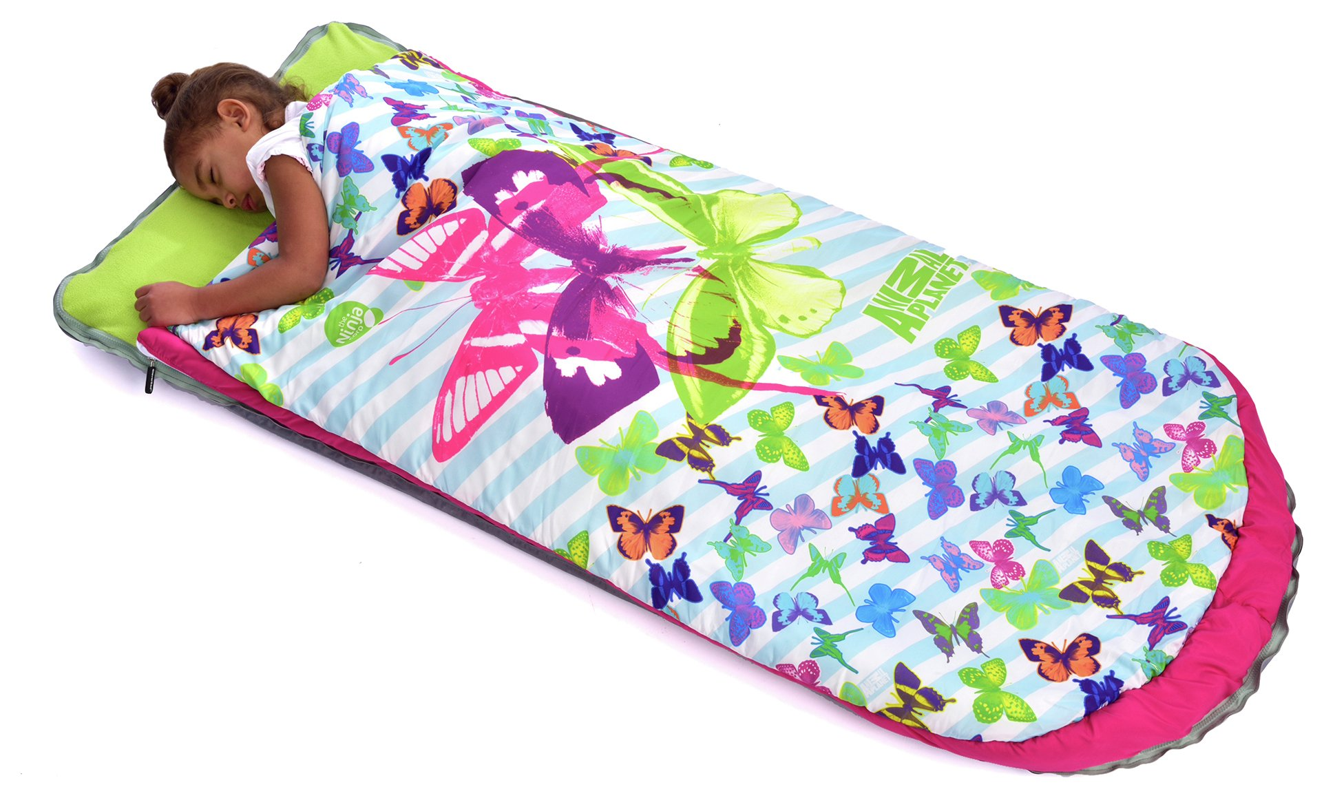 Image of Animal Planet - Butterfly Cleverbed Sleeping Bag - Airbed