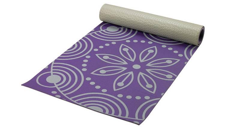 Opti Floral Printed Yoga Mat 0