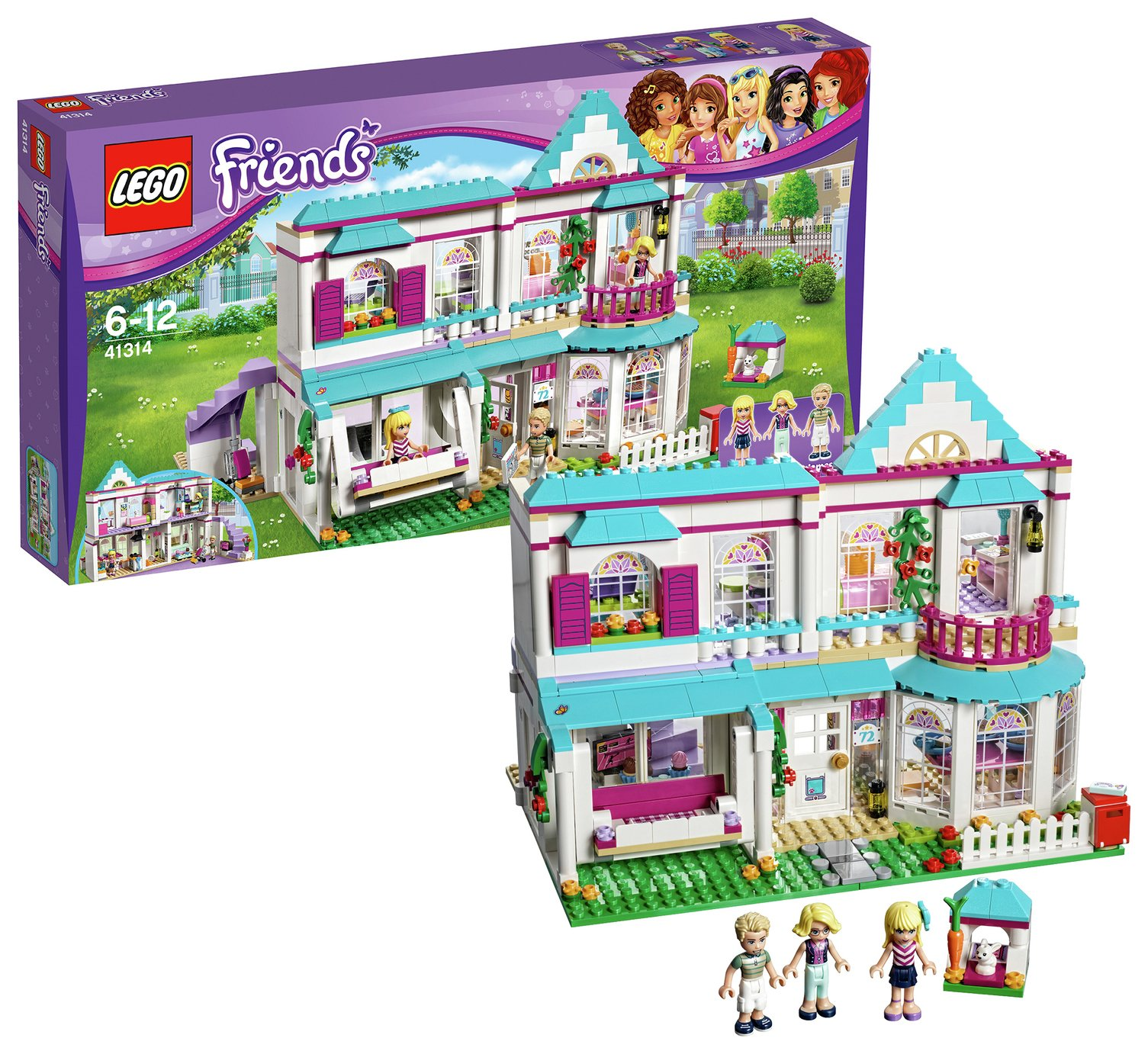 Buy LEGO Friends Stephanie's House - 41314 at Argos.co.uk - Your ...