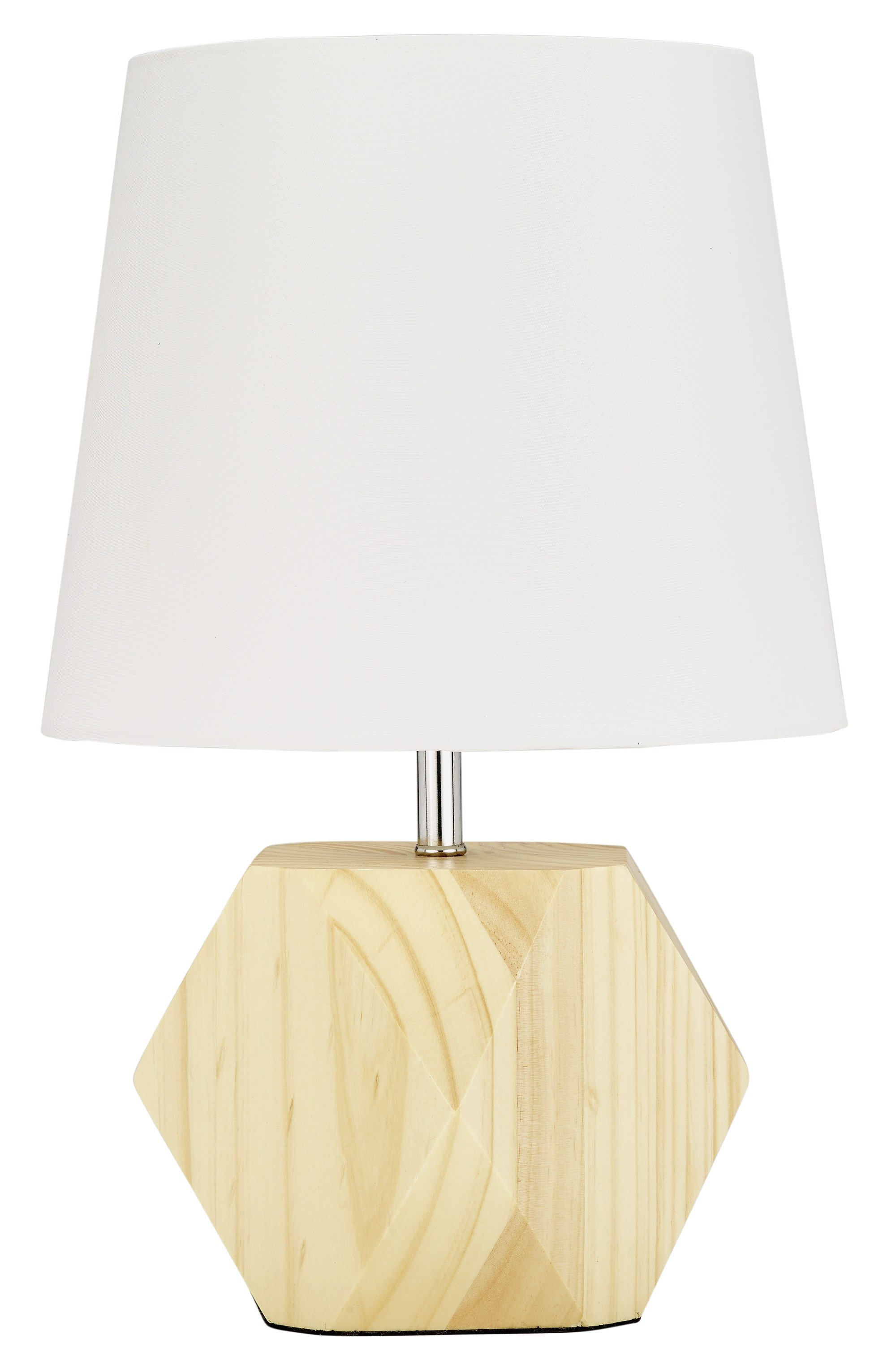 Image of Collection - Hex Natural Wood - Table Lamp