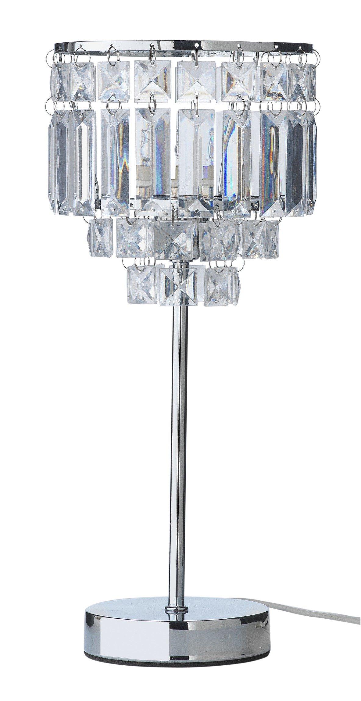 Argos Home Olivia Chrome Table Lamp