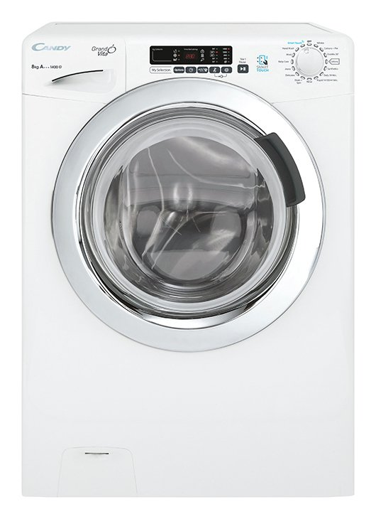 Image of Candy - GVS148DC3 8KG 1400 Spin - Washing Machine - White