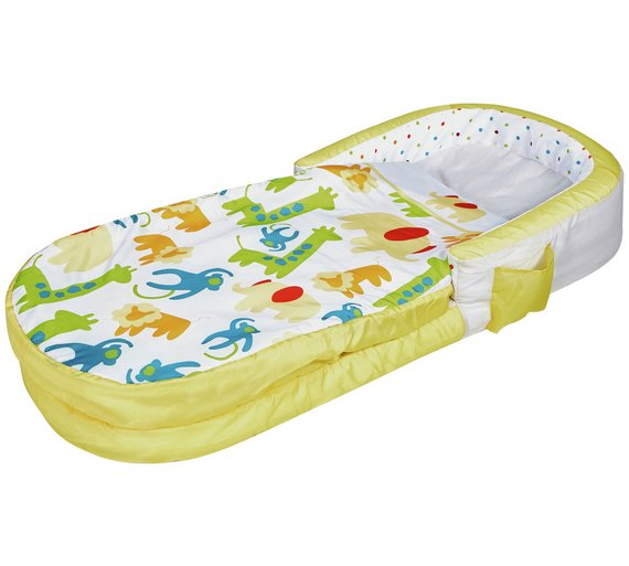 Jungle My First ReadyBed Kids Airbed And Sleeping Bag