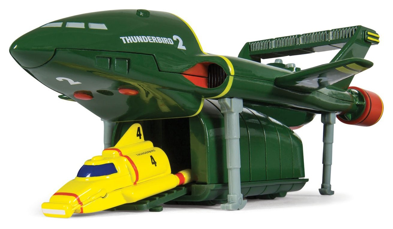 Image of Corgi Thunderbirds TB2 and TB4