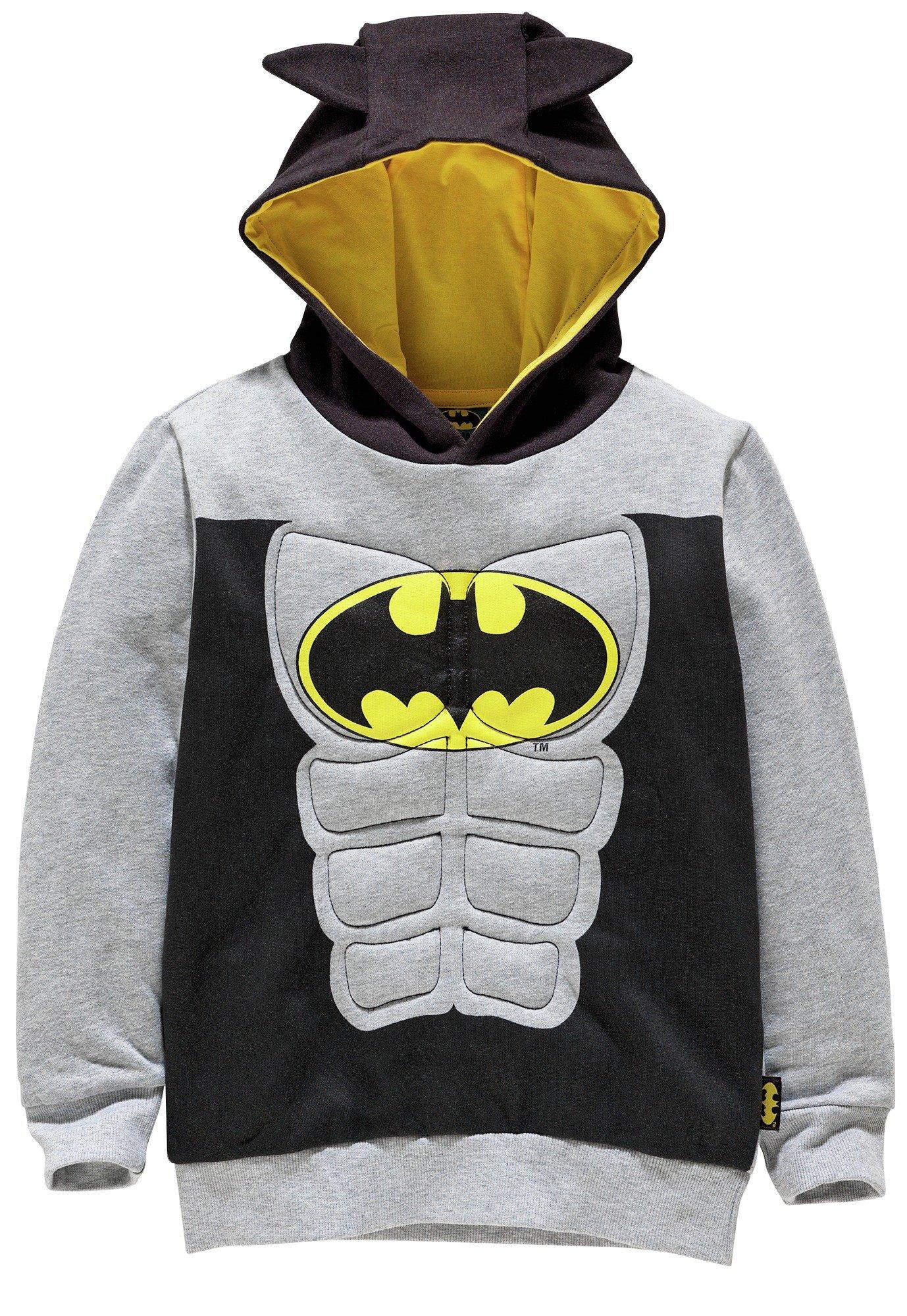 Image of Batman - Boys Muscle Hoodie - 7-8 Years