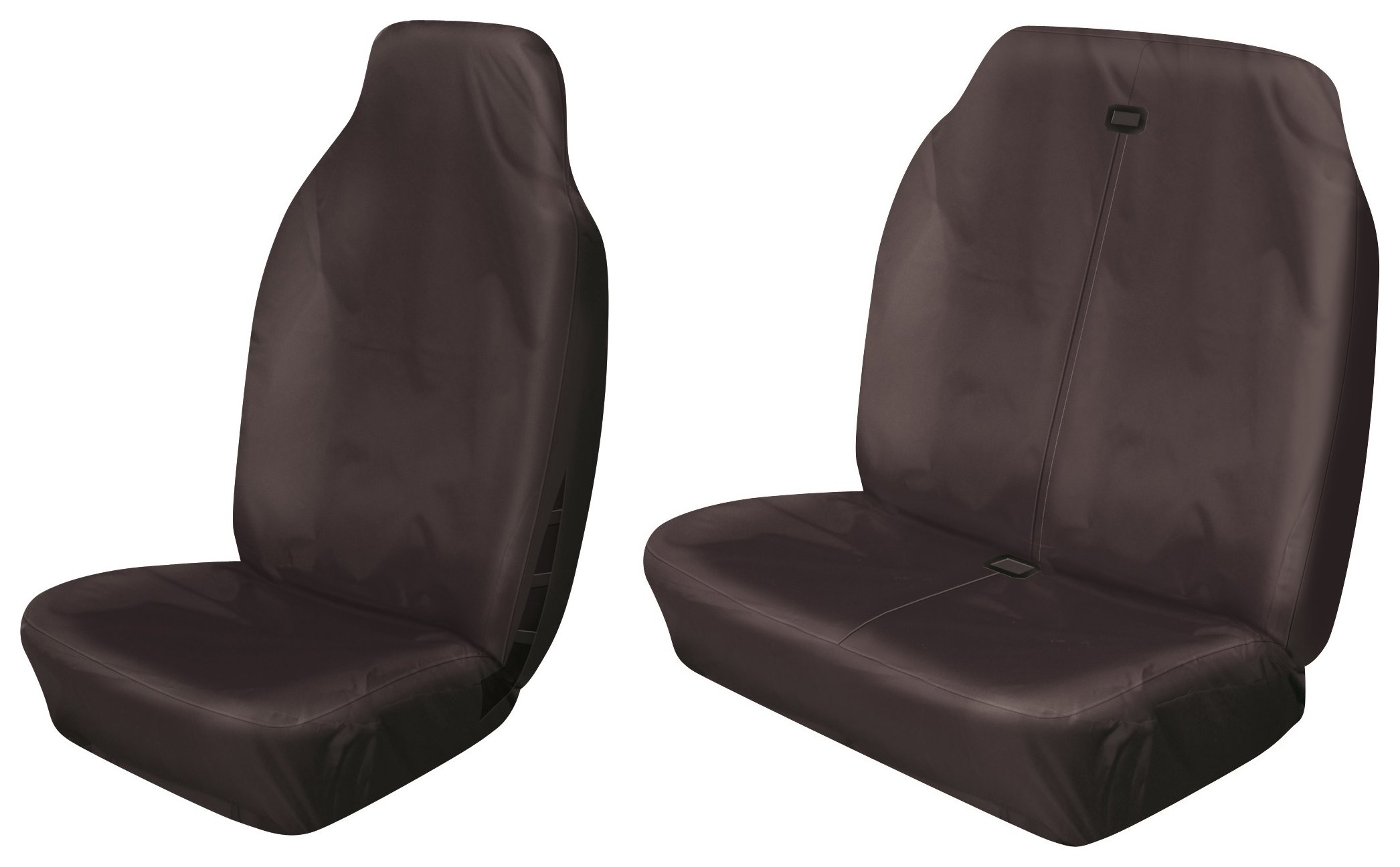 Cosmos Heavy Duty Commercial Seat Cover Set - Black