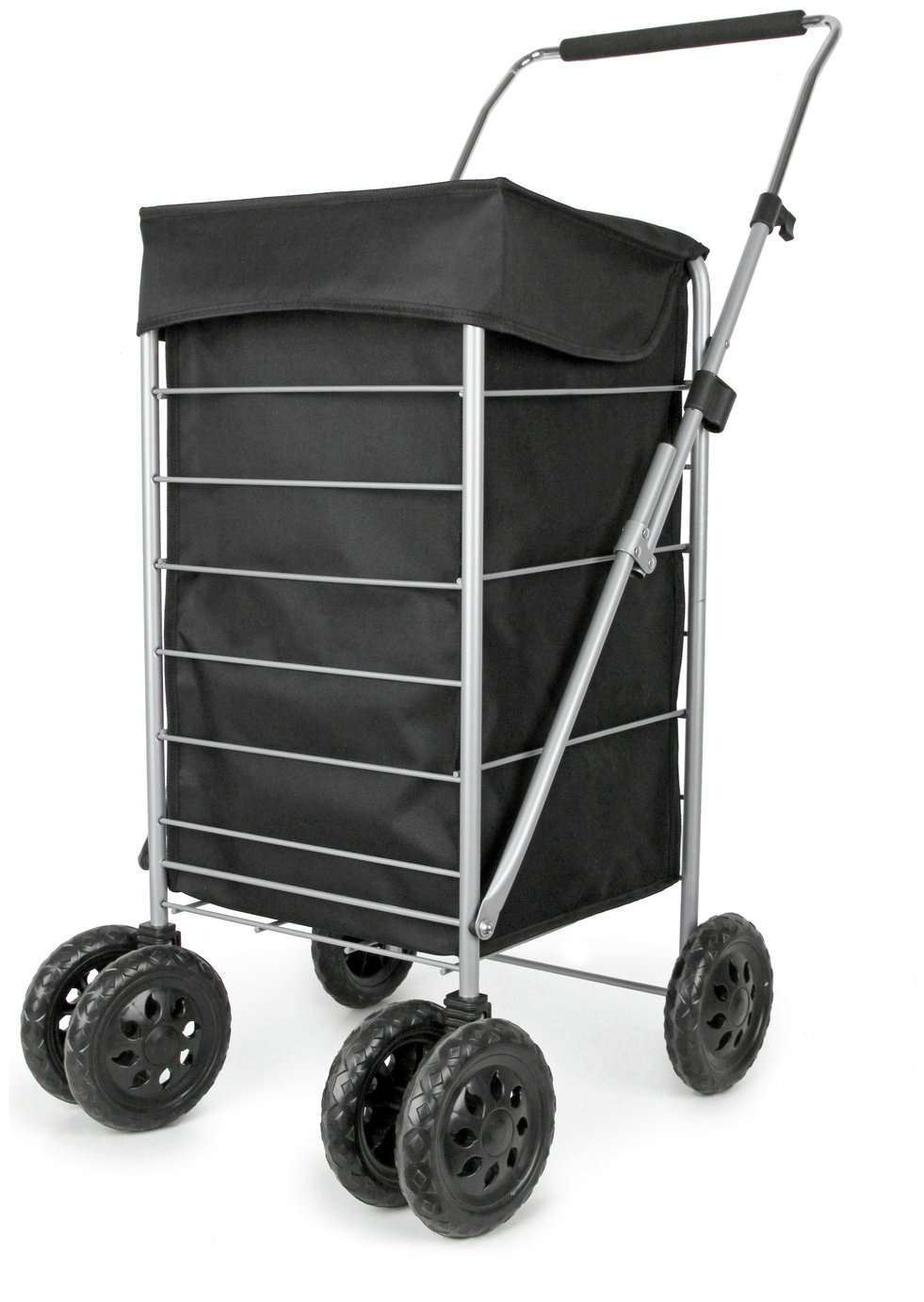 Image of 6 Wheel Deluxe Shopping Trolley