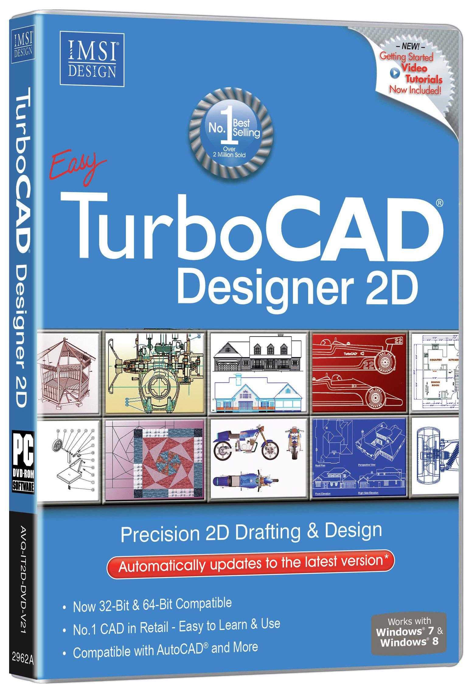 Image of Avanquest - TurboCAD Designer 17 Software