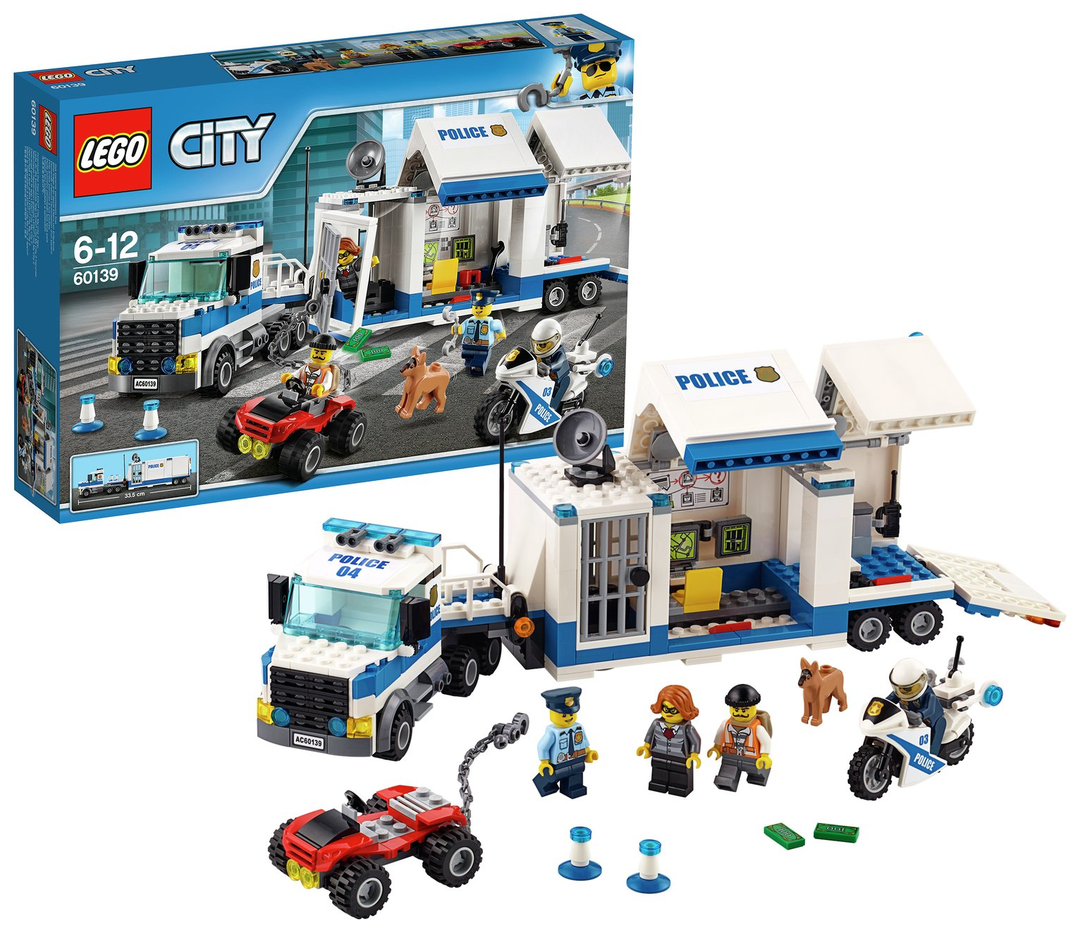 LEGO City Mobile Command Centre - 60139