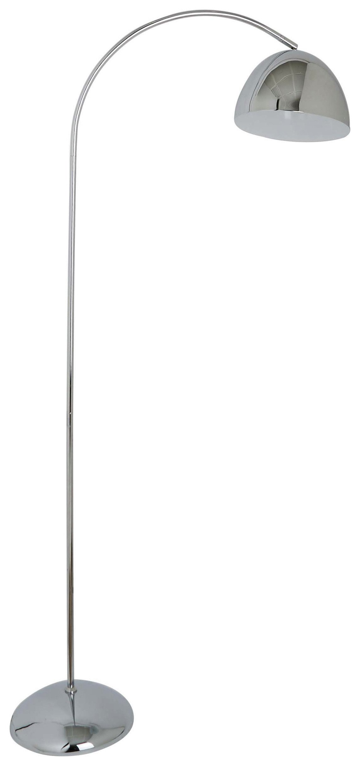 Image of Habitat Hardy Floor Lamp - Chrome