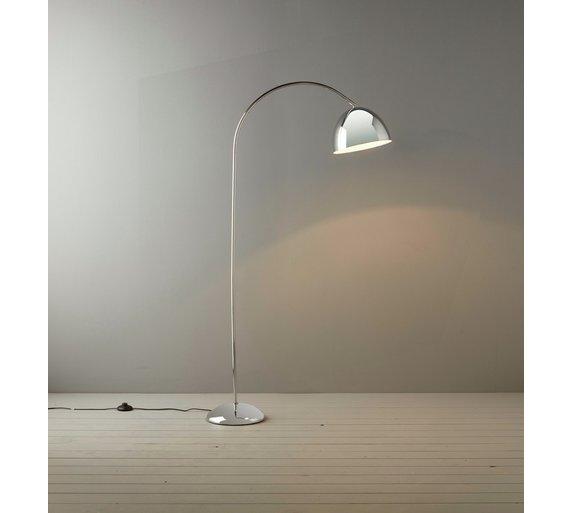 Habitat hardy floor lamp chrome