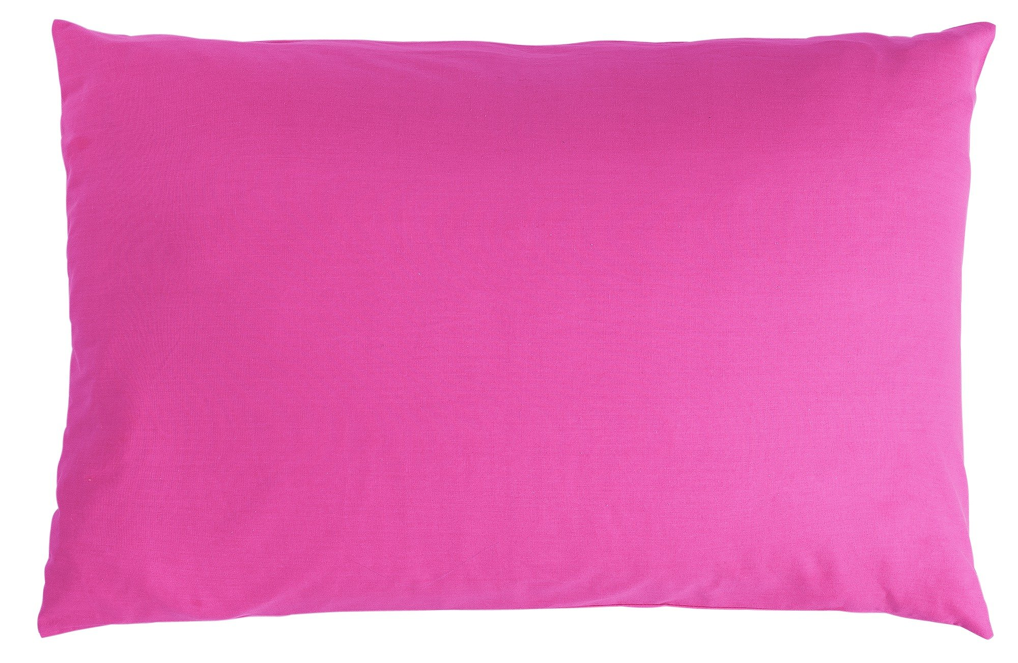 colourmatch pair of housewife pillowcases  funky fuchsia
