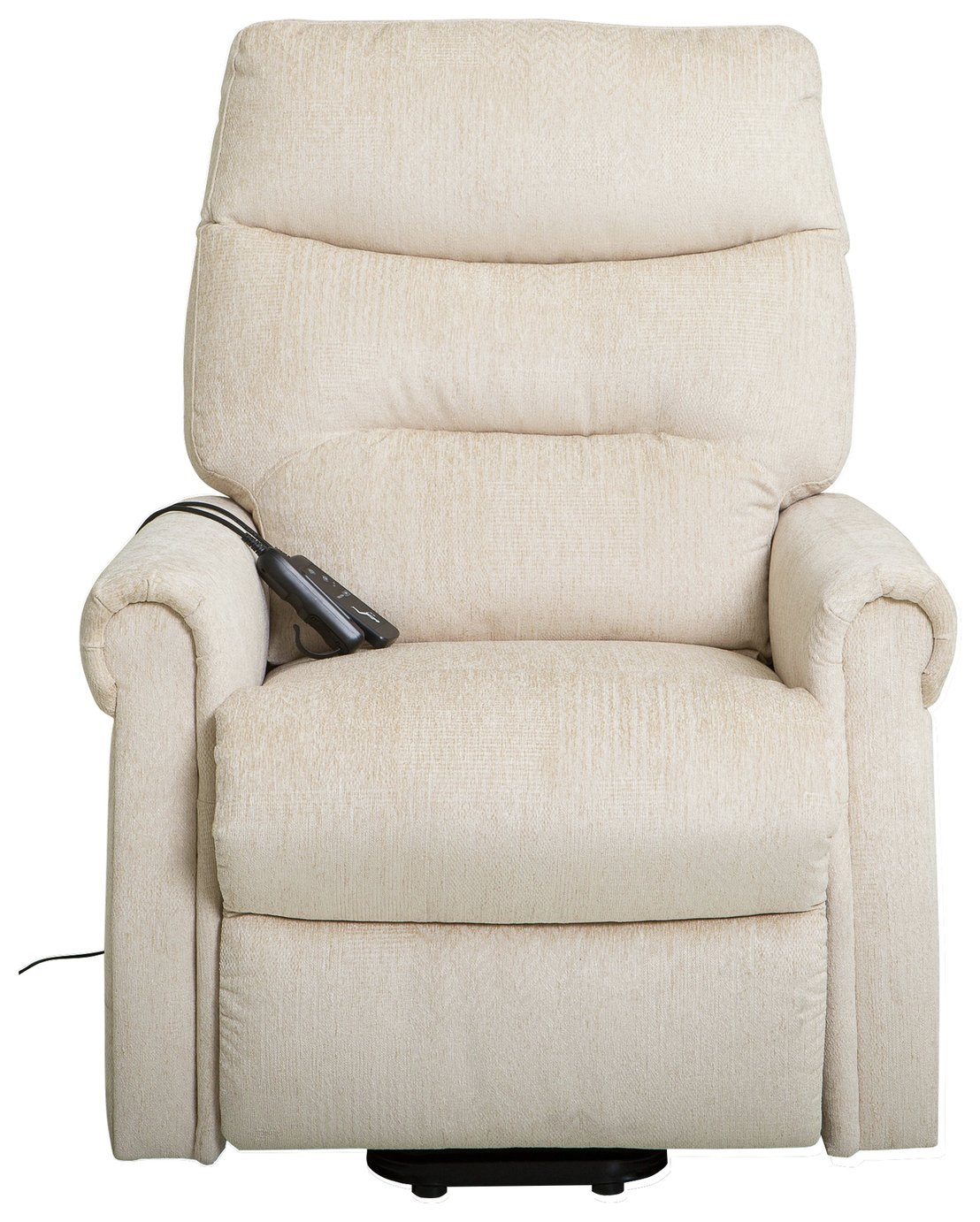 Clarke Riser Recliner Heated Chair - Biscuit