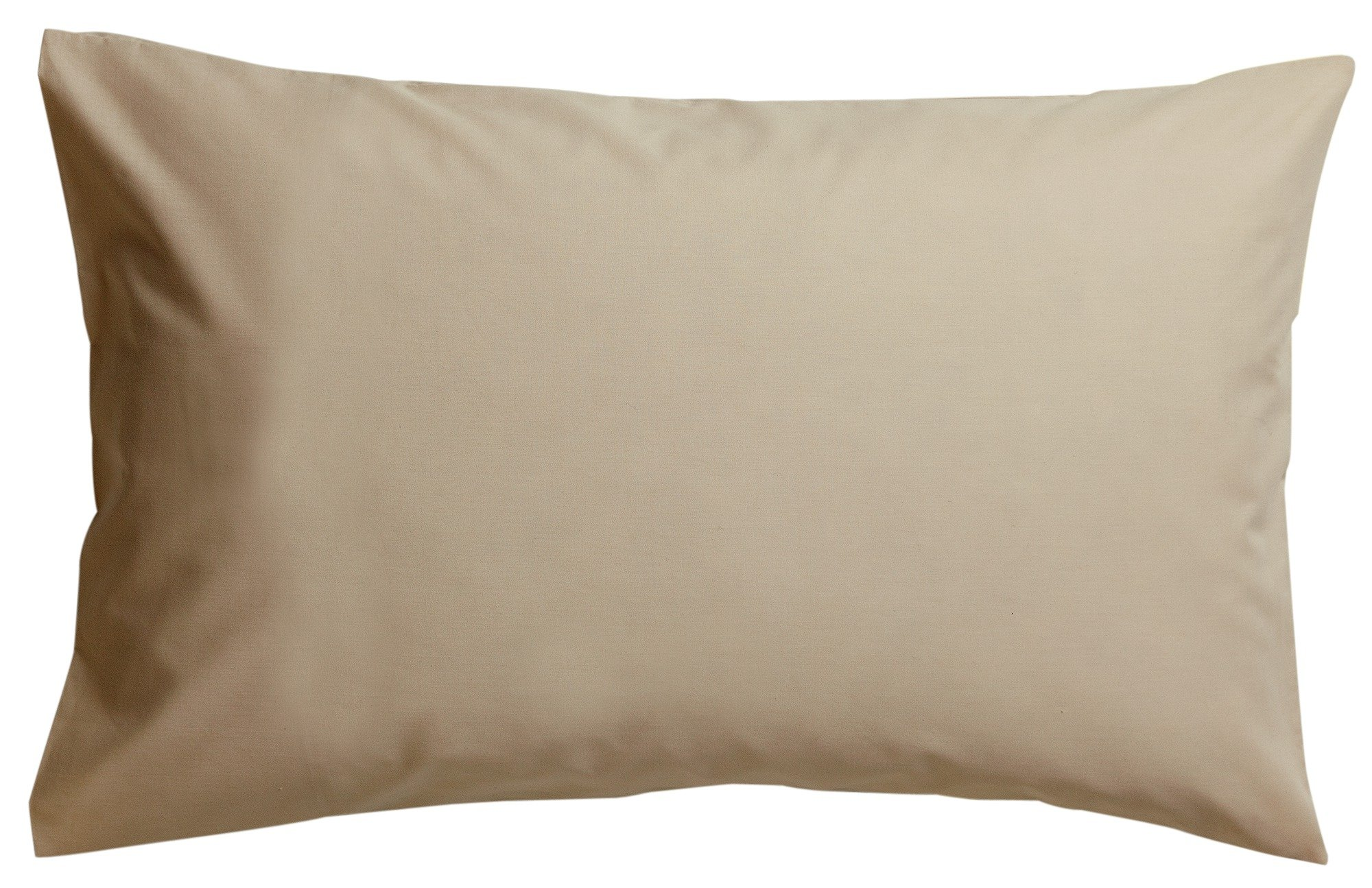 collection pair of non iron housewife pillowcases  cream