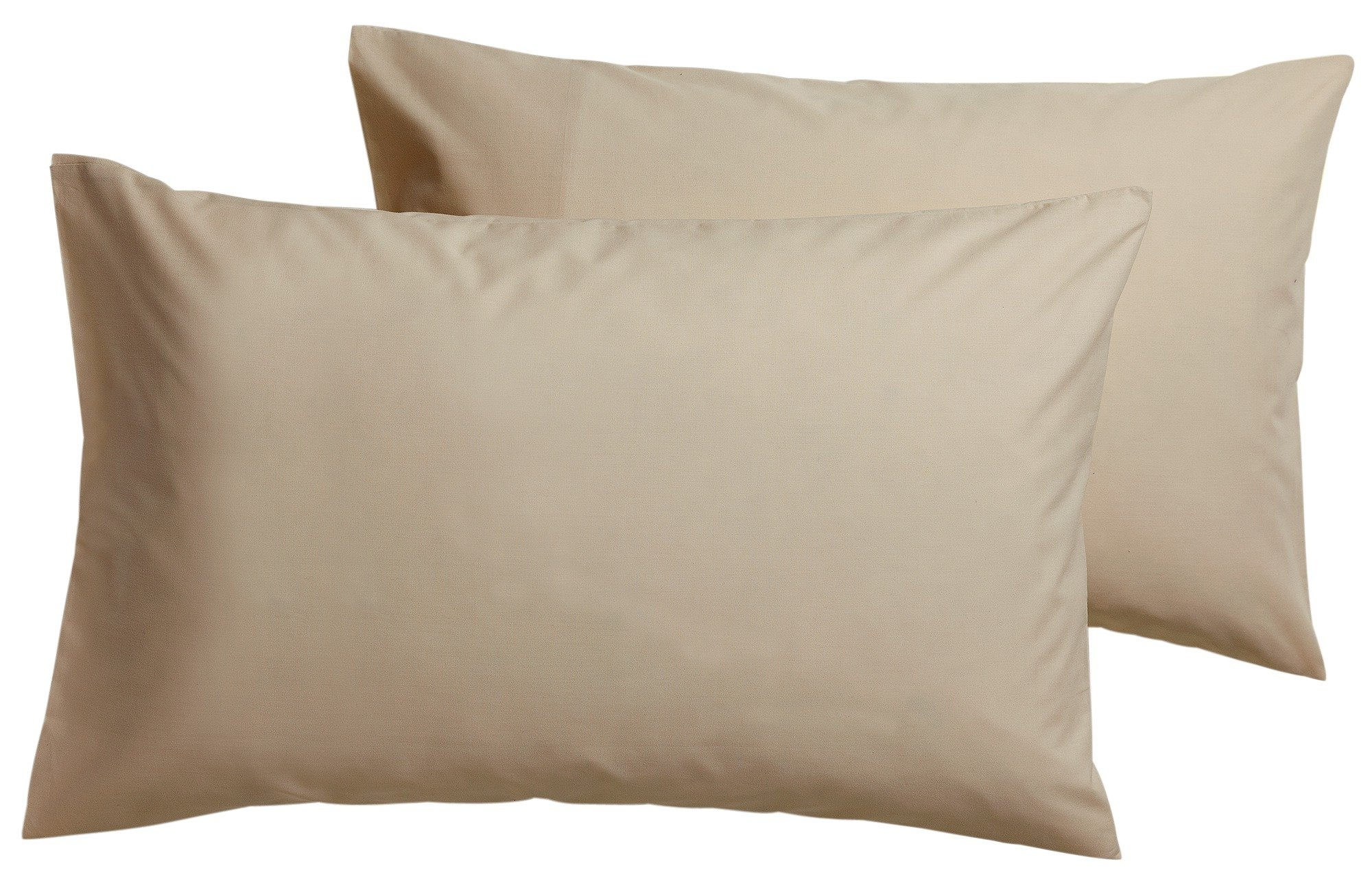 Argos Home Pair of Non Iron Housewife Pillowcases - Cream