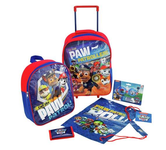 Buy PAW Patrol 5 Piece Luggage Set  a020662b8d31b