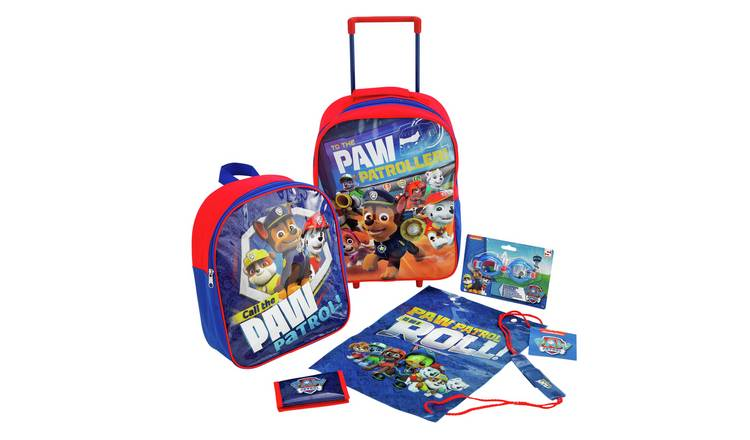 PAW Patrol 5 Piece Kids Luggage Set